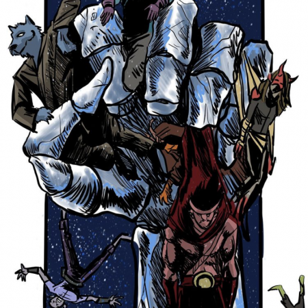 Fenrir Issue 4 Cover